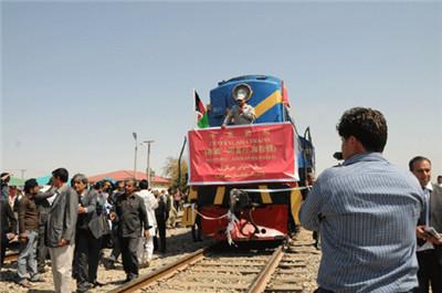 В Афганистан прибыл первый грузовой поезд из Китая