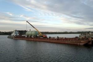 Перевозка грузов речным транспортом